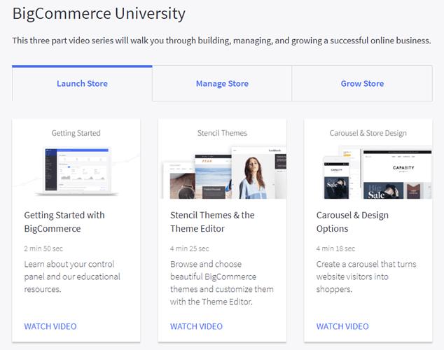 BigCommerce University