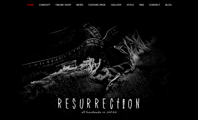 Resurrection Website