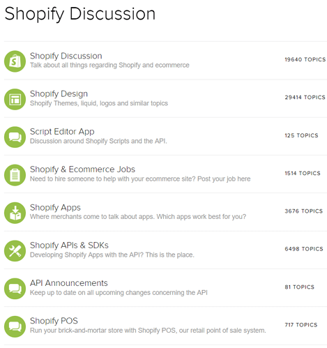 Shopify Discussions