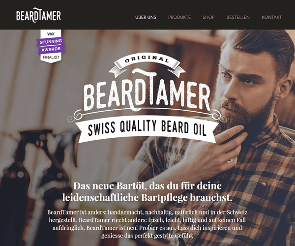 Beardtamer Website