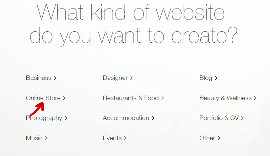 Type of Website